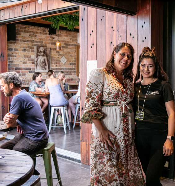 About our proprietors Pippi and Justin Drew @ The Cauli, Waterloo