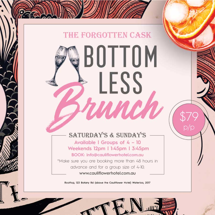 Bottomless Brunches at The Cauliflower Hotel, Waterloo