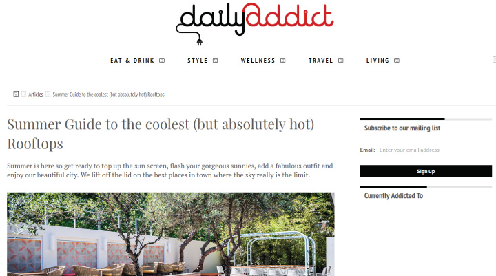 image of The Cauliflower Hotel featured on Daily Addict