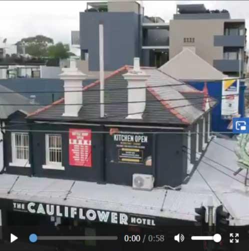 image of The Cauliflower Hotel featured on Interlock Construction